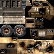 USA Supply Truck Texture 2