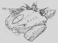 CNCTW Scorpion Tank Concept Art 7