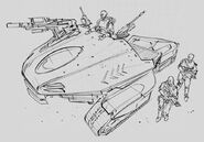 CNCTW Scorpion Tank Concept Art 8