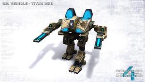 CNC4 Titan Mk. II In-game LoRes Render