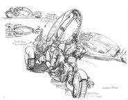 CNCTD Recon bike concept art
