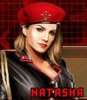 Natasha Mobile Cutscene