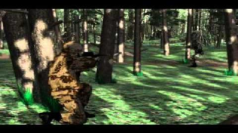 C&C Tiberian Dawn - Guy Killing Another Guy in the Forest