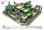 China Supply Depot concept art