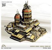 GLA Command Center concept art