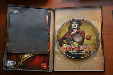 Red Alert 3 Premier Edition Music Disc