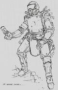 CNCTW Grenadier Concept Art 2
