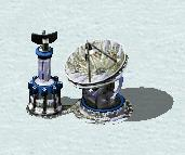Spy satellite in Snow Theater