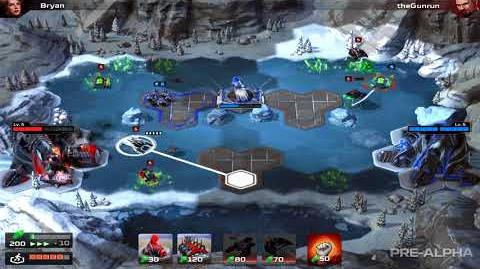 Command and Conquer Rivals Nod Gameplay