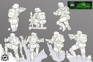 CNCTW Commando Concept Art EH 1