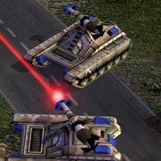 Generals Laser Tank