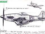 P-51J Mako fighter