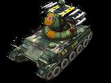 Medium rocket tank