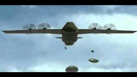 C&C Tiberian Dawn - Paratroopers