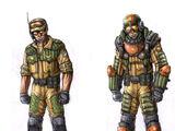 Rocket Soldier Officer