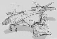 CNCTW Dropship Concept Art 6
