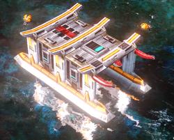 RA3 Imperial Docks