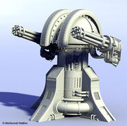 Gattling Cannon Model 2