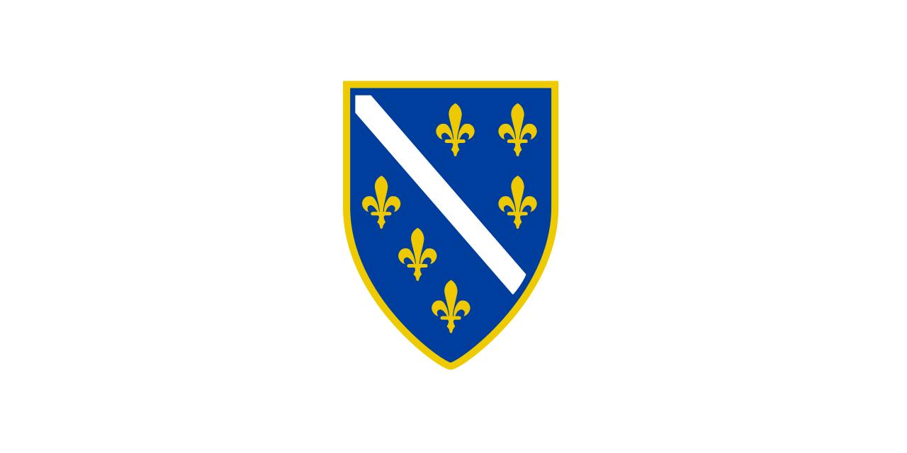 Bosnian Flag 1990s