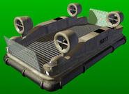 TD Hovercraft Render