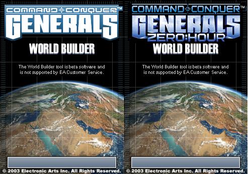 c&c generals worldbuilder