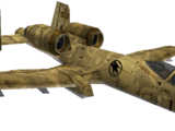 A-10 Ground Support Plane (Renegade)