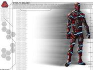 Renegade Stealth soldier concept art