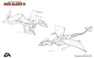 RA3 Sunburst Drone Concept Art 1