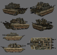 REN2 Rhino Tank Model Render