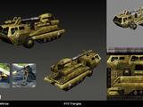 Mobile defense platform