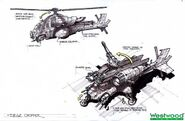 RA2YR Siege Chopper concept art final