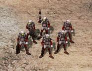 CNCTWKW Tiberium field suits