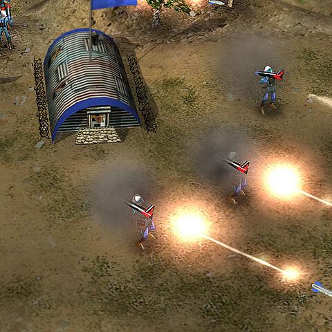 Ракетные защитники в атаке