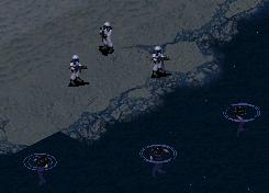 Navy SEALs in snow-camo uniforms