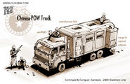 China POW Truck concept art