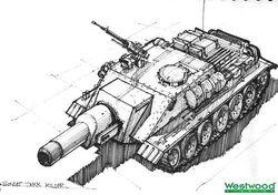 RA2 Soviet tank killer