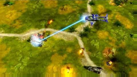C&C Red Alert 3 Hammer Tank Surveillance Footage
