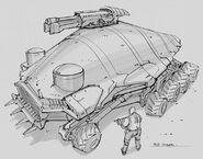 CNCTW Scorpion Tank Concept Art 10