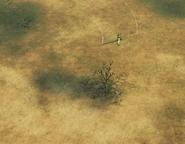 Recon drone circling