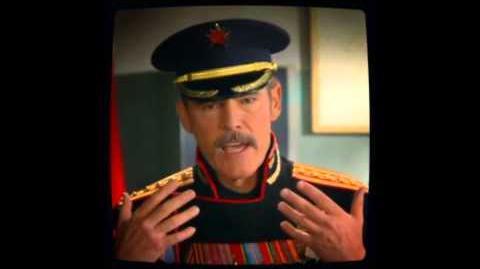 C&C Red Alert 3 General Krukov Scenes & Cutscenes