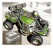 Rocket Buggy Concept