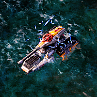 Tsunami Tank use Nanodeflectors on water