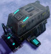 CNC4 GDI Tier I Defense Crawler Deployed