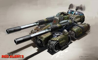 RA3 ApocalypseTank ConceptArt