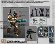 CNC3KW Zone Raider Concept Art