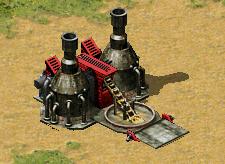 Soviet ore refinery