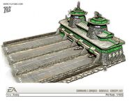 China Airstrip concept art