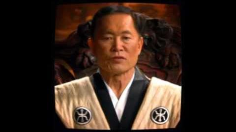 C&C Red Alert 3 - Emperor Yoshiro cutscenes