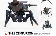 RA3 Centurion Siege Crawler concept fragment