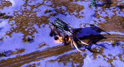 RA3 Mammoth Tank Squishing